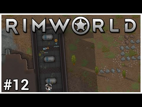 Rimworld - #12 - Ancient Technology - Let's Play / Gameplay / Construction