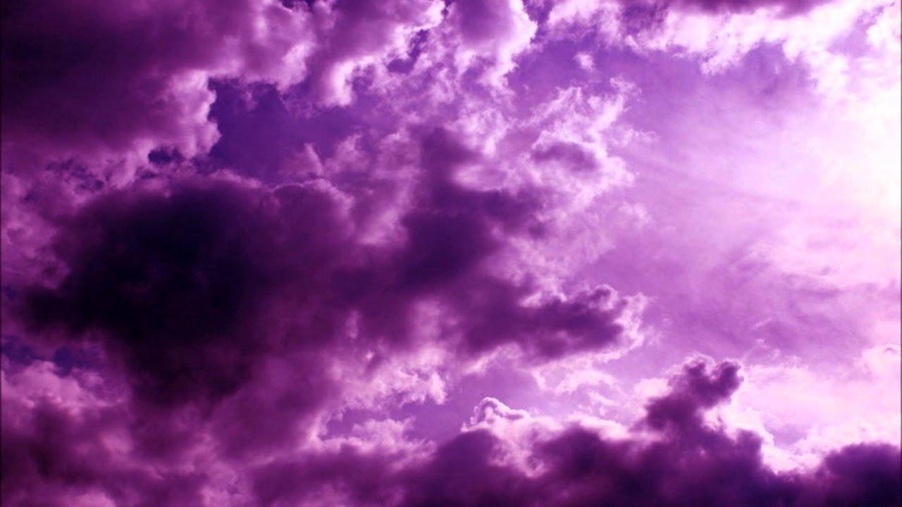 purple clouds youtube