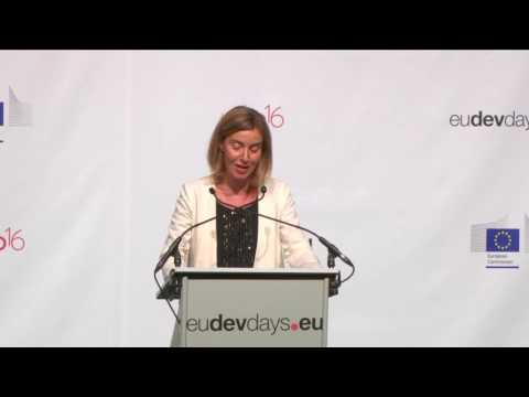 European Development Days 2016 Opening ceremony