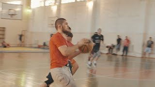 "Khabib Nurmagomedov plays  ""Dagestani"" Basketball during Ramadan"