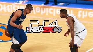 PS4 NBA 2K14 Tutorial: Do The Park Moves/Streetball Moves In REAL Game - Playstation 4 Gameplay