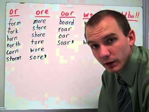 WW Sort 28 or, ore, oar, w + or - YouTube