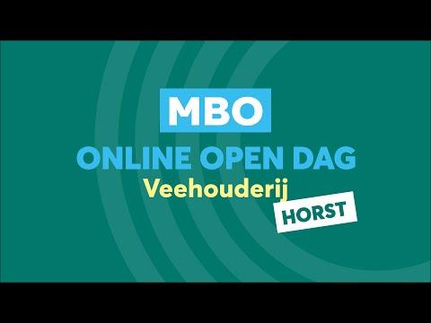 Horst MBO Veehouderij Online Open Dag