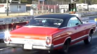 67 Galaxie 428 at Atco dragway