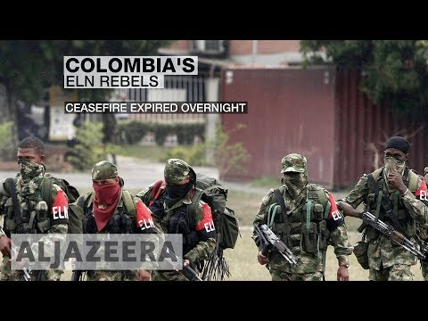 🇨🇴 Colombia withdraws negotiators after ELN attacks