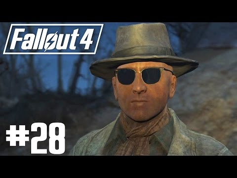 Fallout 4 - Part 28 - Railroad Tradecraft with Deacon [ The Switchboard ]