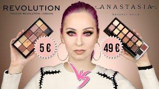 ANASTASIA Soft Glam VS REVOLUTION Velvet Rose