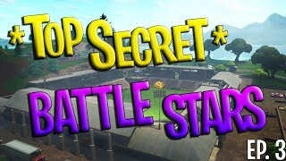 *TOP SECRET* BATTLE STAR LOCATIONS Part 3! Fortnite: Battle Royale
