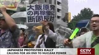 Japanese protesters call for end to nuclear power Smacktalk when yo...
