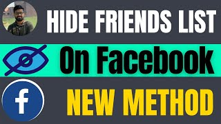 How to hide friend list on Facebook apps & pc 2021
