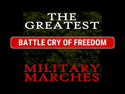 AMERICAN CIVIL WAR MILITARY MARCH - BATTLE CRY OF FREEDOM - INSTRUMENTAL