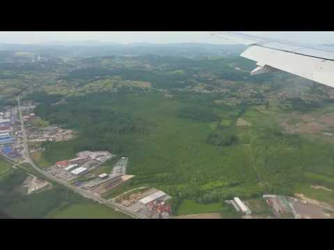 Sletanje na Aerodrom Dubrave Tuzla