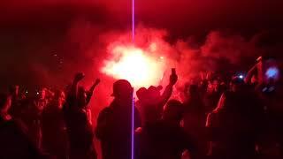 2018/10/12 - Görögország - MAGYARORSZÁG /Szurkolói vonulás/