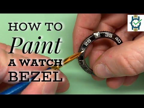 Painting A Watch Bezel