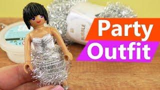 Playmobil DIY | NEUES Party Outfit für Stellas BFF | Weihnachten & Silvester Playmobil DIY