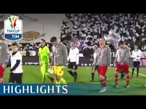 Spezia - Alessandria - 1-2 - Highlights - Quarti di finale - TIM Cup 2015/16