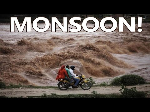 10 Amazing Facts About The Summer Monsoon Of India - Tens Of India