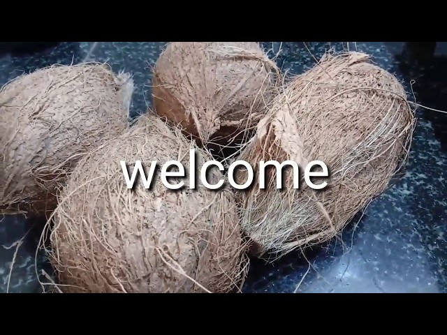 Home made  instant coconut oil/How to make coconut oil in home kannada