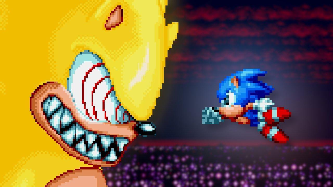 Sonic Mania Plus ✪ vs  Fleetway Super Sonic Mod