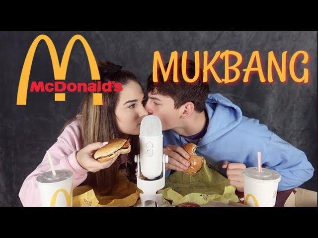 Asmr Mcdonalds Mukbang W My Boyfriend Eating Sounds