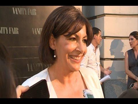"""Anne Hidalgo """"muy contenta"""" con el premio de Vanity Fair"""