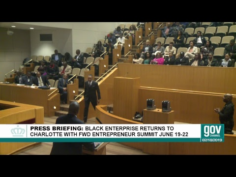 Black Enterprise Summit Returns to Charlotte in 2019 - YouTube