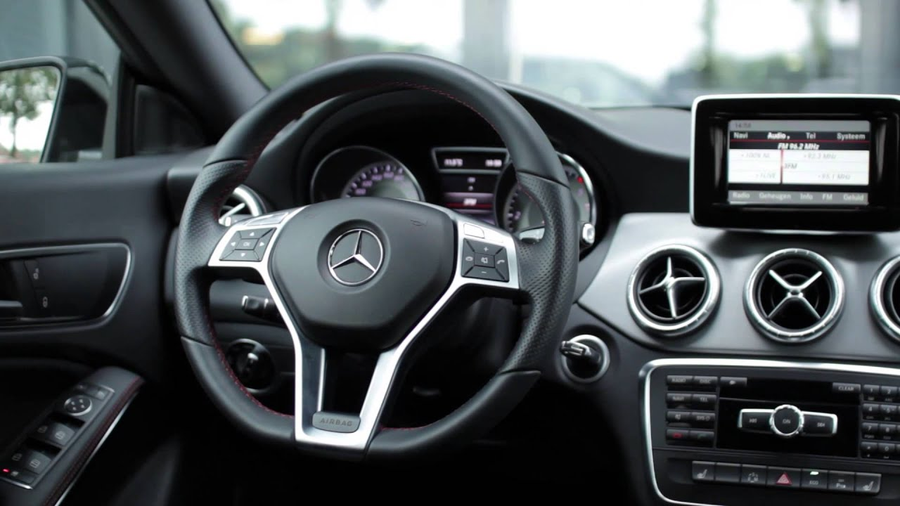 Mercedes Benz Cla 220 Cdi Amg Line Youtube