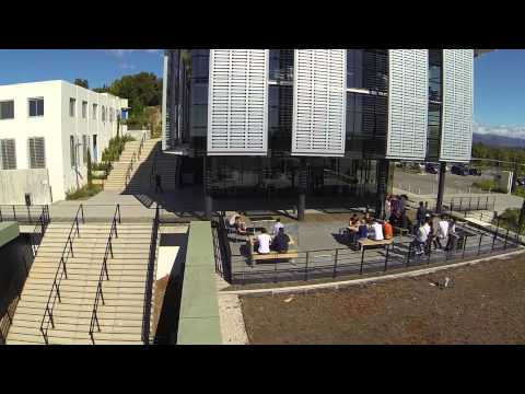 B6 drone video campus sophia tech Sophia Antipolis Antibes 06