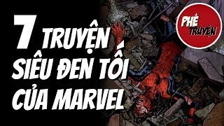 07 lần MARVEL ĐEN TỐI hơn cả DC