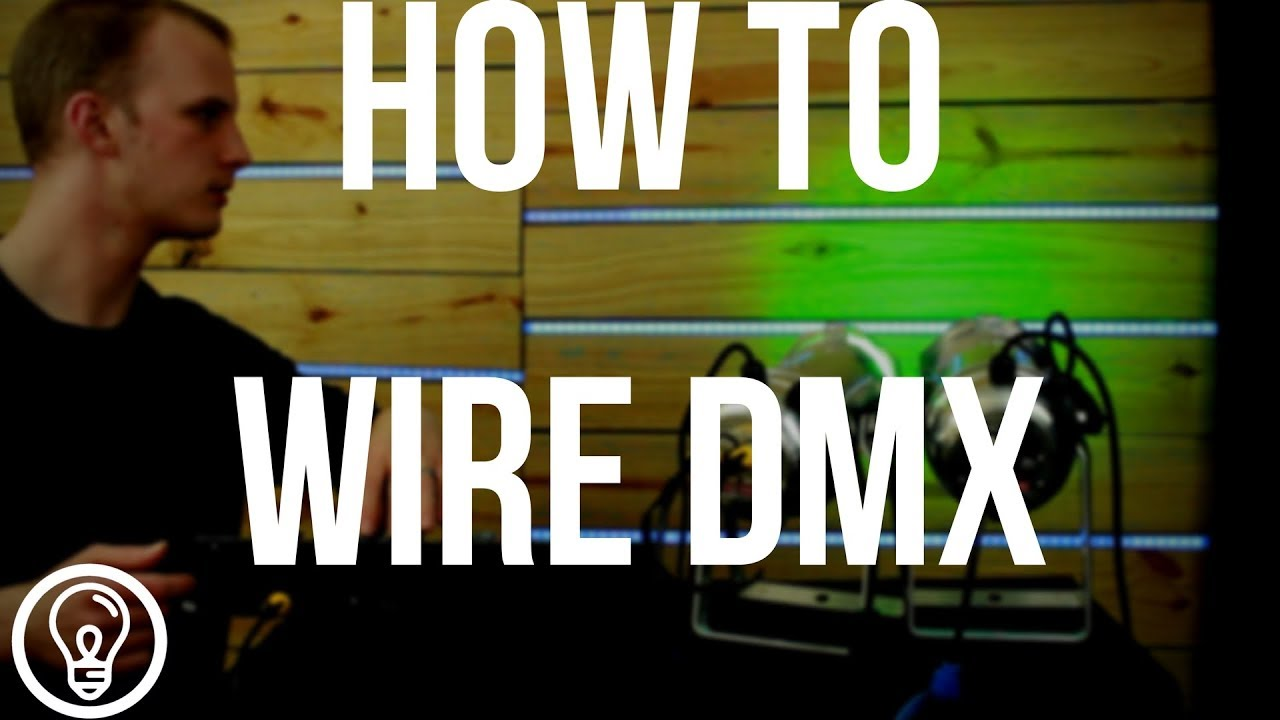 dmx with wire 2 wire can be [ 1280 x 720 Pixel ]