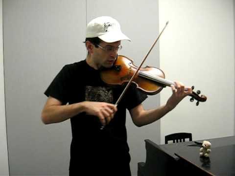 Paganini Caprice # 13 - William Harvey, violin