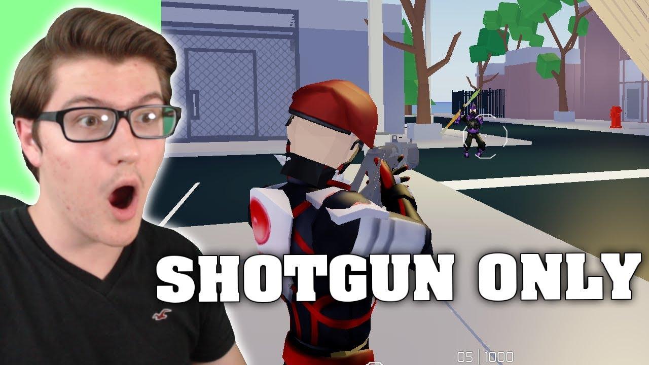 I USED SHOTGUNS ONLY IN STRUCID! (ROBLOX FORTNITE) - YouTube