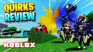 BOKU NO ROBLOX REMASTERED: CODE & DARK SHADOW QUIRK REVIEW! [APRIL 2019]