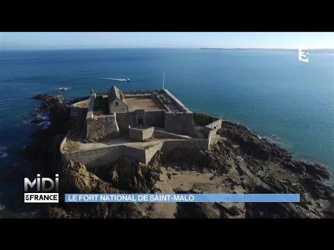 Le Fort National de Saint-Malo, classé monument historique de Bretagne