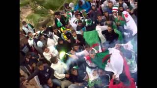 طاقين ولاية تيارت فرحة ابناء ثانوية ديدوش مراد بتأهل الفريق الوطني