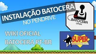 تركيب Batocera على عصا usb - ويكي الرسمية Batocera PT-BR).