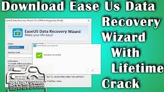 How To Download EaseUs Data Recovery Wizard With Crack    Ibrahim Shabbir