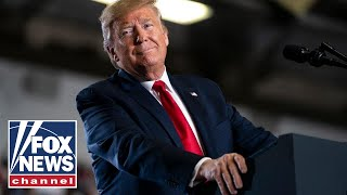Trump holds campaign event in North Carolina