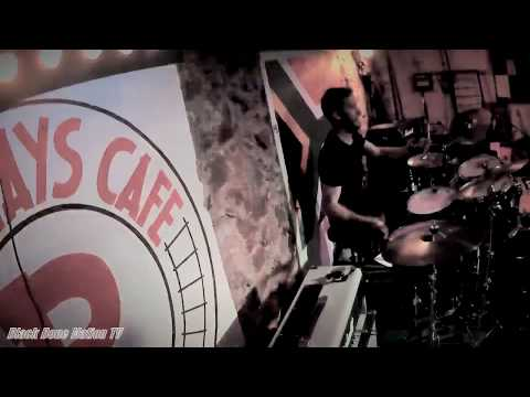 Black Bone Nation - Enter Sandman - Henri Viljoen Drum Cam - Railways Café, South Africa 2019