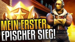 MEIN ERSTER EPISCHER SIEG! #1 Platz! • Fortnite Battle Royale [Deutsch]