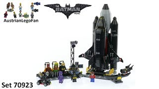 Lego Batman Movie 70923 The Bat Space Shuttle - Lego Speed Build Review