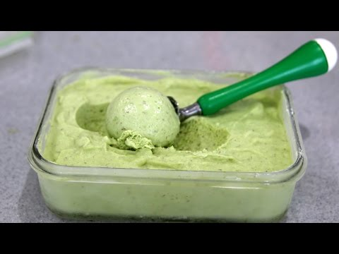 AVOCADO ICE-CREAM - KEM TRAI BO