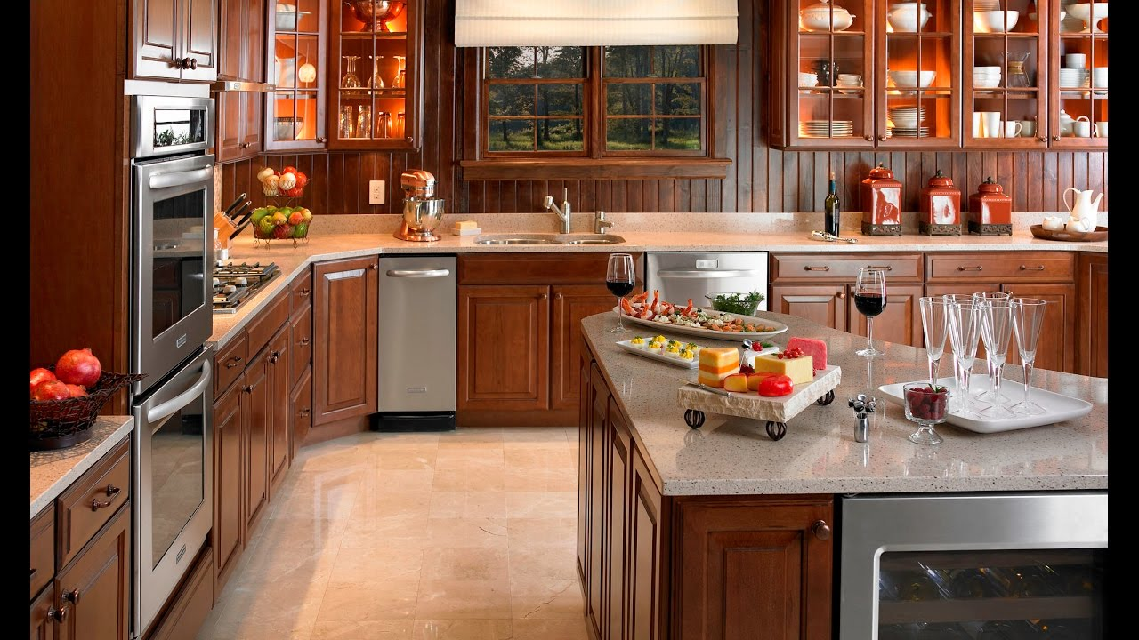 Modern Country Kitchen Designs - YouTube