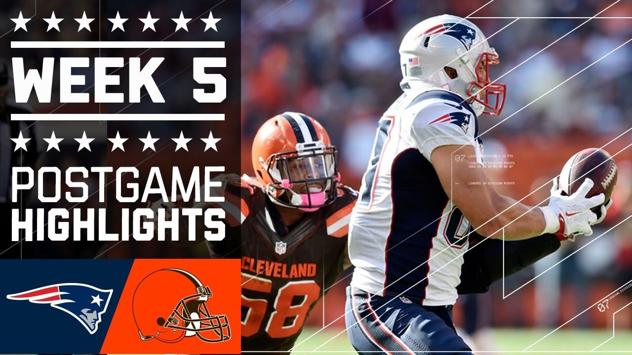 Patriots vs. Browns  e4b305fea