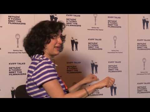 KVIFF TALK with American film editor Sarah Flack / s americkou filmovou editorkou Sarah Flackovou