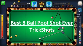 8 Ball Pool Best shots in match | 8 Ball Pool Trickshots tips and tricks and new update.
