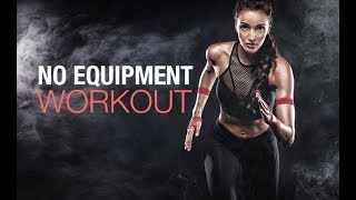 No Equipment Cardio Workout (BODYWEIGHT ONLY!!)