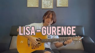 Gurenge - LiSA - Demon Slayer: Kimetsu no Yaiba OP - Fingerstyle Guitar Cover by Anwar Amzah