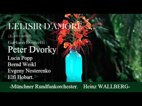 L´ELISIR D´AMOR. G. Donizetti. (Popp & Dvorsky)