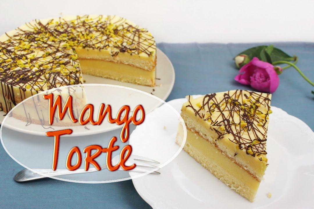 Mango Joghurt Torte Backen Fruchtige Torte Mit Mango Fullung Selber Machen Ohne Gelatine
